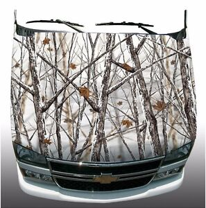 Snow Winter Camouflage Hunting Hood Wrap Wraps Sticker Vinyl Decal Graphic