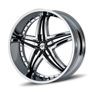 24 Inch Gianna Blitz Rims Wheels 22 26