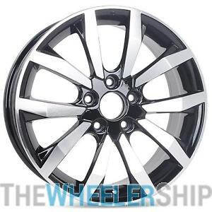 New 17 X 7 Replacement Wheel For Honda Civic Ex Ex l 2014 2015 Rim Black 64063