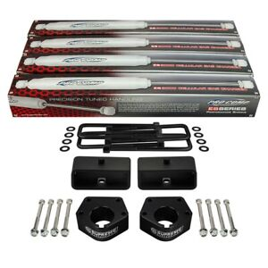 Fits 1986 1995 Toyota Ifs Pickup 4wd 3 2 Lift Kit W Shocks Blocks Pro