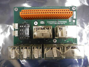 Svg Thermco 172700 001 Relay Pcb Assly W omron