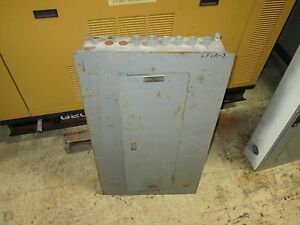 Square D Circuit Breaker Panel Nqod442l225 E2 225a 42 slot Used