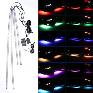 Led Underbody Kit Multicolor Neon Strips 48 36 Smd 5050 Bright Undercar Glow