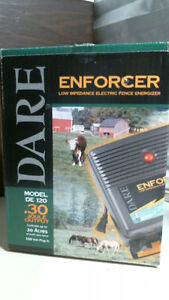 Dare De120 110 V Low Impedance Electric Fence Energizer Free Shipping
