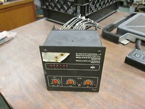 Porter Reactive Power Control Relay M539 6 250v 7 5a 1800va Used