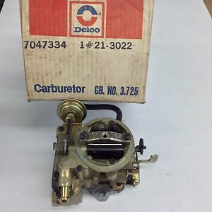 Nos Rochester Monojet Carburetor 7043034 1973 Chevy Vega 140 Engine
