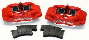New Wilwood Red Slc56 Front Brake Caliper Pad Kit 97 13 Corvette C 5 C 6 Z06