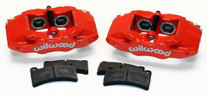 New Wilwood Red Dpc56 Rear Brake Caliper Pad Kit 97 13 Corvette C 5 C 6 Z06