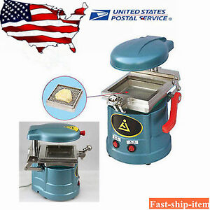 Dental Vacuum Forming Molding Machine Heat Thermoforming Former Lab Equipment Us