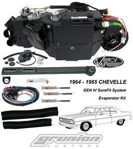 Vintage Air 1964 1965 Chevelle W O Ac Air Conditioning Evaporator Kit 561065