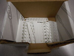 Weco Bst 302 07 Marker Strip For Terminal Block white lot Of 100