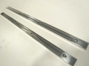 Ford Model A Extended Cab Sill Scuff Plate Polished Aluminum 30 31
