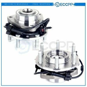 2 Front Wheel Bearing Hub Assembly Chevy Trailblazer Gmc Envoy Bravada Rainer