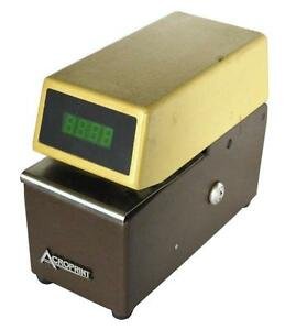 Acroprint Etc Time Recorder 115 Vac Sold As Is
