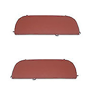 Chevrolet Chevy Steel Fender Skirt Set 53 54 1953 1954