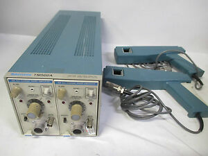 2 Tektronix Am 503 Current Probe Amplifier W Tm502a A6303 Probe