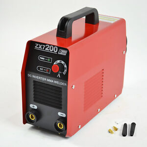 Us Stock 220v Igbt Zx7 200 Dc Inverter Mma Arc Welding Machine Aofeng
