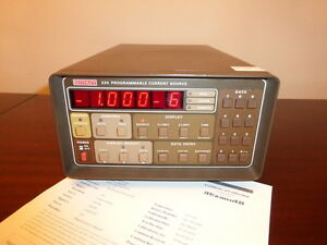 Keithley 224 1v To 105v 5na To 100ma Programmable Current Source Calibrated