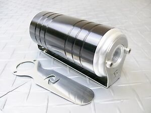 Black 10 An orb 100 Micron Stainless Steel Element Aluminum S max Fuel Filter