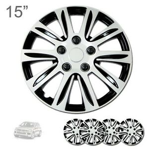 For Vw New 15 Abs Silver Rim Lug Steel Wheel Hubcaps Cover 547