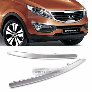 Oem Front Bumper Eye Line Trim Fog Lamp Upper Lh Rh For Kia 2011 2016 Sportage R