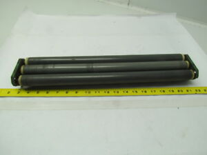 Interroll 3 Pvc Conveyor Rollers 18 X1 3 16 Hex Shaft W bracket