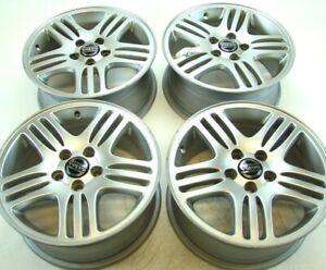 Set Of 4 Volvo Oem 16x7 Eurus Rims Wheels For S80 99 06 V70 Xc70 S60 01 09