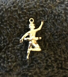 Sterling Silver Scrap Not 2 Grams Ballerina Pirouette Charm B116
