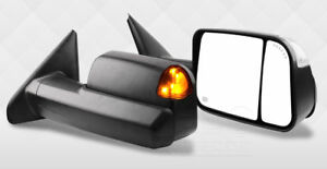 Jdmspeed Power Heated Tow Mirrors Fit For 02 08 Dodge Ram 1500 03 09 2500 3500