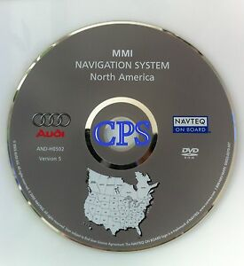 2004 2005 2006 Audi A8 A8l S8 Mmi Navigation Map Disc Cd Dvd And h0502 V 5