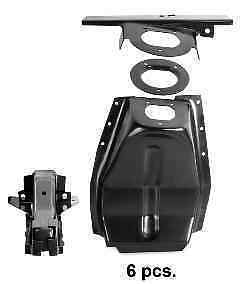 Ford Mustang Notched Shock Tower Kit Upper Control Arm Delete Right 1967 1968