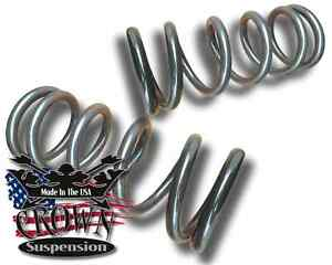 2 Front Lowering Coil Springs V6 Drop Kit Fits 1982 2004 Gmc S15 Sonoma Jimmy