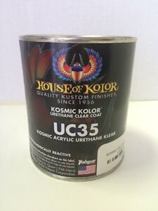 House Of Kolor Uc35 Polyurethane Enamel Clear Coat 1 Quart