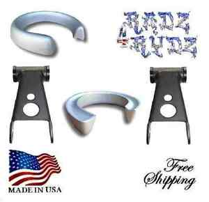 1983 2014 Ford Ranger Mazda B 3 2 Lift Shackles Coil Spacers Leveling Lift Kit