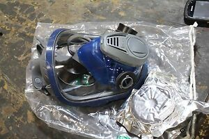 Msa Advantage 3200 Full Face Mask Dual Port Respirator Small 817588 Filter New