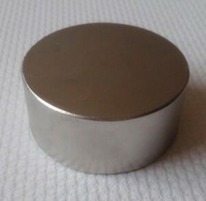 Strong Large D60 30mm Rare Earth Magnets N52 Neodymium Magnet Disc D60 X