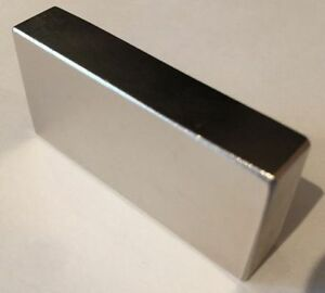 Large Strong Rare Earth Neodymium Block Rectangular Magnets N52 80 X 20 X 10 Mm