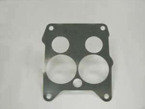 Stainless Steel Metal Baffle Plate Rochester Quadrajet Carburetor 65 69 Chevy Gm