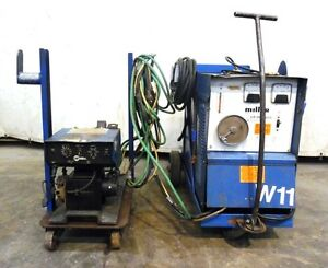 Miller 1983 Constant Potential Welding Power Source Cp 300 W S 52e Wire Feeder