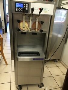 Five 5 used Stoelting 2011 Soft Serve Yogurt Machines F231 Water Cooled Phase 1
