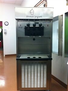 Used Electro Freeze Model Sl 500 Water Cooled Phase 3 Yogurt Machine