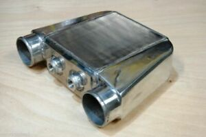 Air To Water Intercooler A w Ic 3 5 In out Liquid Core Aluminum 16 5 x13 x4 5