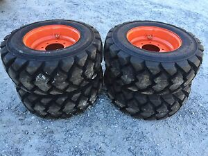4 Galaxy Hulk L5 12 16 5 Skid Steer Tires wheels rim For Bobcat