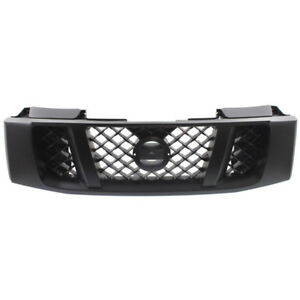Front Grill Grille Assembly Black Ni1200239 62310zr30e 08 14 Titan Pickup Truck
