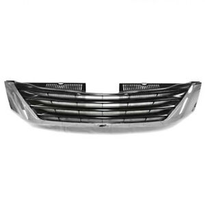 For 11 14 Sienna Le Front Face Bar Grill Grille Assy Chrome To1200334 5310108080