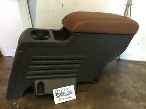Brown 11 18 Explorer Oem Genuine Ford 2nd Row Storage Console Charcoal
