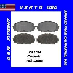 Front Brake Pads For Toyota Yaris 2006 2007 2008 2009 2010 2011 2012 To 2018