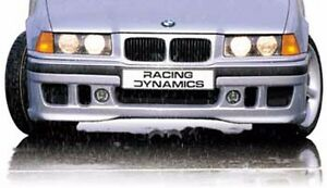 Front Spoiler Racing Dynamics Type R55 V 12 Bmw 3 Series 318 325 92 98 Exc M3