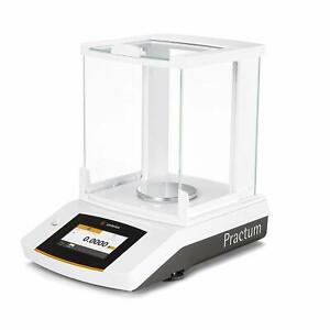 Sartorius Practum64 1s Lab Balance 60 G X 0 1 Mg jewelry Scale Touch Screen new