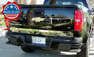 2013 2018 Chevy Colorado Canyon Tailgate Trim Stainless Steel Accent Cover Plain